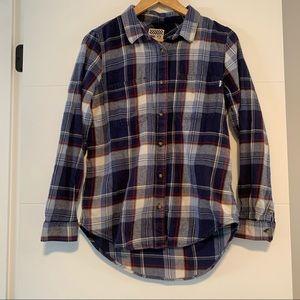 Vans | Plaid Flannel Button Up
